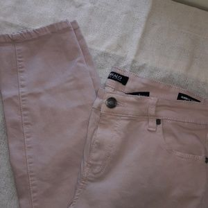 Womens sz 10 BUFFALO pale pink ankle capri pants